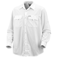 Columbia Sportswear Silver Ridge Shirt - UPF 50, Long Roll-Up Sleeve (For Men) in White - Closeouts