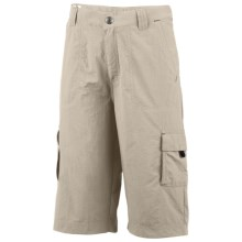 Columbia Sportswear Silver Ridge Shorts - UPF 50 (For Little Boys) in Fossil - Closeouts