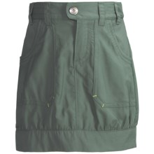 Columbia Sportswear Silver Ridge Skort - UPF 30 (For Little Girls) in Hemlock - Closeouts