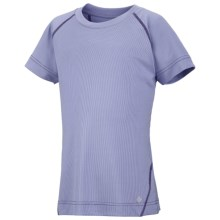 Columbia Sportswear Silver Ridge T-Shirt - UPF 30, Short Sleeve (For Toddler Girls) in Fairytale - Closeouts