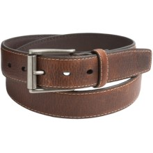 Columbia Sportswear Single Loop Leather Belt (For Men) in Tan - Closeouts