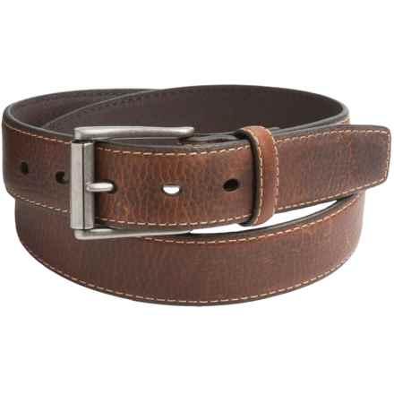 Columbia Sportswear Single Loop Leather Belt (For Men) in Tan - Closeouts