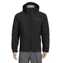 Columbia Sportswear Single Track Jacket - Soft Shell, Omni-Shield® (For Men) in Black - Closeouts