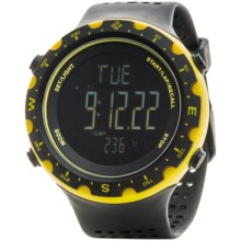 Columbia Sportswear Singletrak Sport Watch in Black/Yellow/Negative - Closeouts