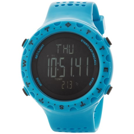 Columbia Sportswear Singletrak Sport Watch in Blue/Black