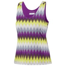 Columbia Sportswear Siren Splash II Fab Knit Jersey Tank Top - UPF 50 (For Women) in Berry Jam  Trail Print - Closeouts