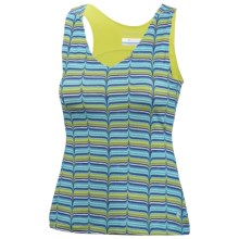 Columbia Sportswear Siren Splash II Fab Knit Jersey Tank Top - UPF 50 (For Women) in Chartreuse Whale Tale - Closeouts