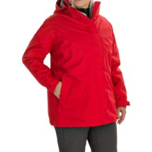 Columbia Sportswear Sleet to Street Interchange Omni-Heat® Jacket - Waterproof, Insulated, 3-in-1 (For Plus Size Women) in Bright Red - Closeouts