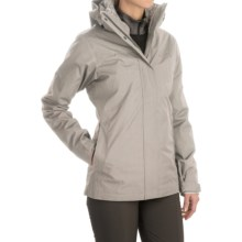 Columbia Sportswear Sleet to Street Interchange Omni-Heat® Jacket - Waterproof, Insulated, 3-in-1 (For Women) in Flint Grey/Mineshaft - Closeouts