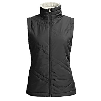 Columbia Sportswear Sleet to Street Vest - Insulated (For Plus Size Women) in Black