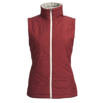 Columbia Sportswear Sleet to Street Vest - Insulated (For Plus Size Women) in Red Element