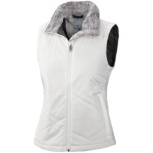 Columbia Sportswear Sleet to Street Vest - Insulated (For Plus Size Women) in Sea Salt - Closeouts