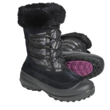 Columbia Sportswear Slopeside Omni-Heat® Winter Boots (For Women) in Black/Coal - Closeouts