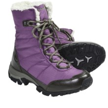 Columbia Sportswear Snolucky Omni-Heat® Winter Boots - Waterproof (For Women) in Gloxinia - Closeouts
