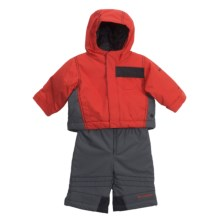Columbia Sportswear Snow Go-Er Jacket and Snow Pant Set (For Infant Boys) in Hot Rod - Closeouts
