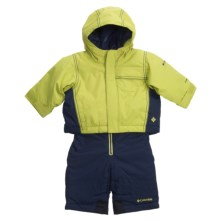 Columbia Sportswear Snow Go-Er Jacket and Snow Pant Set (For Infant Boys) in Leapfrog - Closeouts