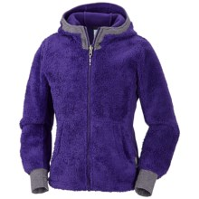 Columbia Sportswear Snow Monkey Jacket - Fleece (For Girls) in Hyper Purple - Closeouts