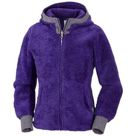 Columbia Sportswear Snow Monkey Jacket - Fleece (For Girls) in Hyper Purple