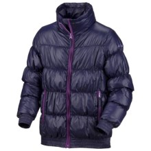 Columbia Sportswear Snow Puff Jacket - Insulated (For Little Girls) in Eclipse Blue - Closeouts
