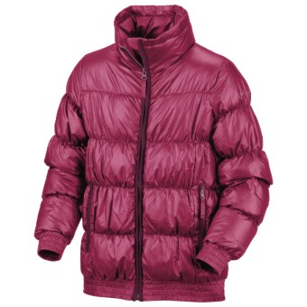 Columbia Sportswear Snow Puff Jacket - Insulated (For Little Girls) in Rouge