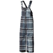 Columbia Sportswear Snow Slope Bib Overalls - Insulated (For Boys) in Mystery Plaid - Closeouts