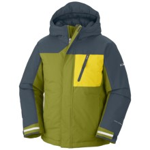 Columbia Sportswear Snowbank Winter Jacket - Waterproof, Insulated (For Toddlers) in Elm - Closeouts