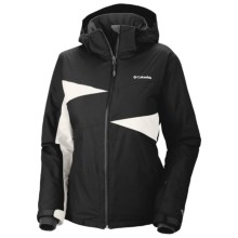 Columbia Sportswear Snowcalypse Omni-Heat®-Omni-Tech® Jacket - Waterproof, Insulated (For Women) in Black - Closeouts