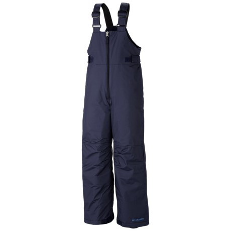 Columbia Sportswear Snowslope II Bib Pants - Insulated, Omni-Shield® (For Toddlers) in Collegiate Navy