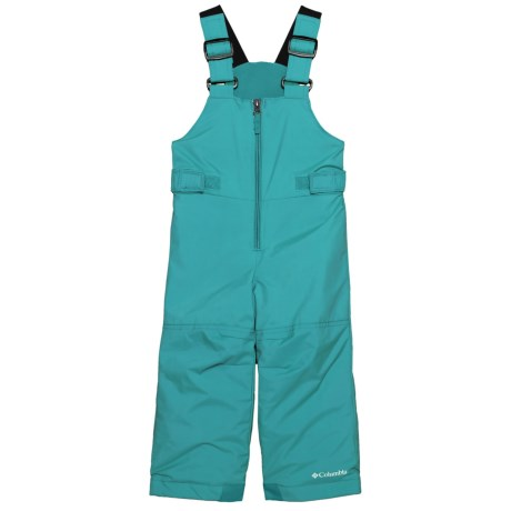 Columbia Sportswear Snowslope II Bib Pants - Insulated, Omni-Shield® (For Toddlers) in Pacific Rim