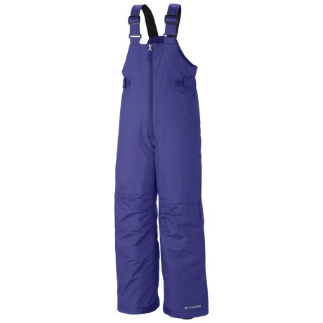 Columbia Sportswear Snowslope II Bib Pants - Insulated, Omni-Shield® (For Toddlers) in Purple Lotus