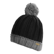 Columbia Sportswear Snowtop Beanie Hat (For Kids and Youth) in Black/Charcoal - Closeouts