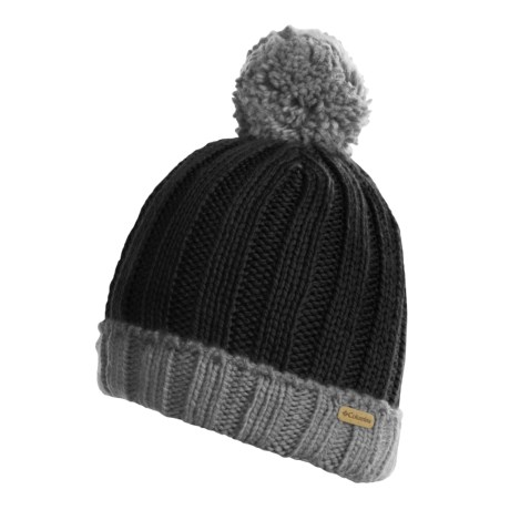 Columbia Sportswear Snowtop Beanie Hat (For Kids and Youth) in Black/Charcoal