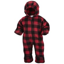 Columbia Sportswear Snowtop II Bunting - Fleece (For Infants) in Bright Red Lumberjack - Closeouts