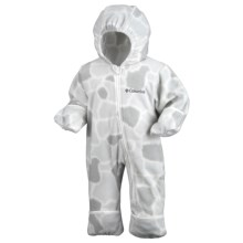 Columbia Sportswear Snowtop II Bunting - Fleece (For Infants) in Ice Grey Giraffe Print - Closeouts