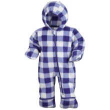 Columbia Sportswear Snowtop II Bunting - Fleece (For Infants) in Light Grape Lumberjack - Closeouts