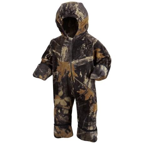 Columbia Sportswear Snowtop II Bunting - Fleece (For Infants) in Timberwolf Camo