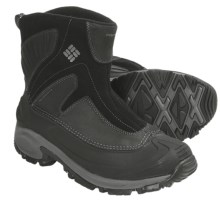 Columbia Sportswear Snowtrek Boots - Waterproof, Insulated, Slip-Ons (For Men) in Black/Charcoal - Closeouts