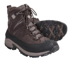 Columbia Sportswear Snowtrek Winter Boots - Waterproof, Insulated (For Men) in Corovan/Tusk - Closeouts