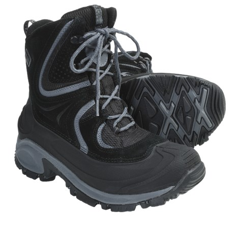 Columbia Sportswear Snowtrek Winter Boots - Waterproof, Insulated (For Women) in Varsity Grey
