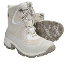Columbia Sportswear Snowtrek Winter Boots - Waterproof, Insulated (For Women) in Winter White - Closeouts