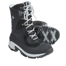 Columbia Sportswear Snowtrek XTM Winter Boots - Waterproof, Insulated (For Women) in Black - Closeouts