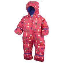 Columbia Sportswear Snuggly Bunny Down Bunting - Insulated (For Infants) in Afterglow Fox Print - Closeouts