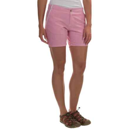 Columbia Sportswear Solar Fade Shorts - UPF 30 (For Women) in Haute Pink - Closeouts