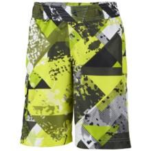 Columbia Sportswear Solar Stream Boardshorts - UPF 30 (For Boys) in Radiation Print - Closeouts