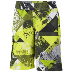 Columbia Sportswear Solar Stream Boardshorts - UPF 30 (For Boys) in Spicy