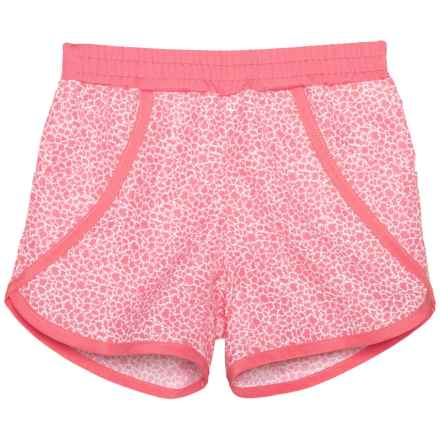 Columbia Sportswear Solar Stream II Boardshorts - UPF 30 (For Toddler Girls) in Lollipop Mimosa Print