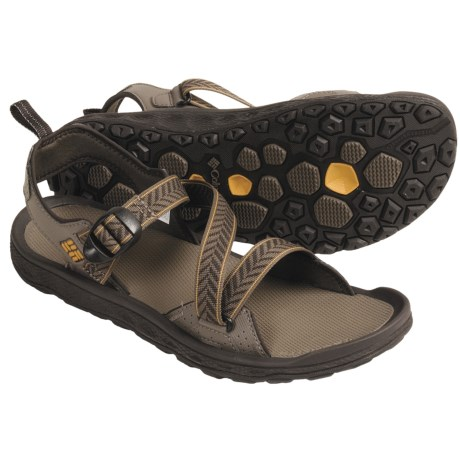 Columbia Sportswear Solocat Sport Sandals (For Men) in Bungee Cord/Golden Glow