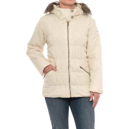Columbia Sportswear Sparks Lake Map Jacket - Insulated (For Women) in Chalk