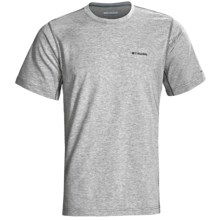 Columbia Sportswear Speedhike II Shirt - Short Sleeve (For Men) in Light Grey Heather - Closeouts