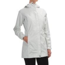 Columbia Sportswear Splash a Little Rain Jacket - Omni-Tech®, Waterproof, Hooded (For Women) in Sea Salt Lace Print - Closeouts